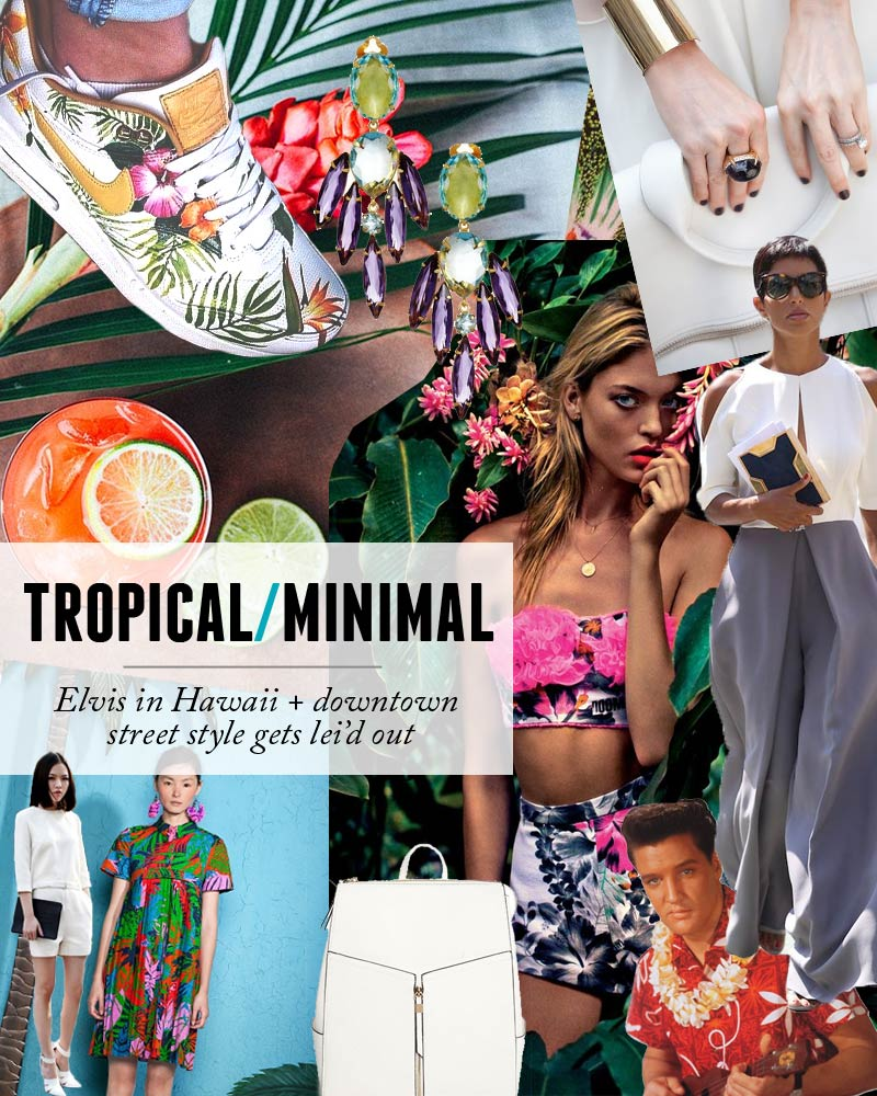 tropical-style-collage