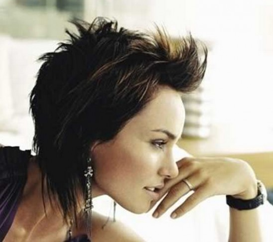 Short hairstyles for the short haired girl