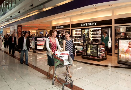Duty-Free Shopping to Look Good for Less
